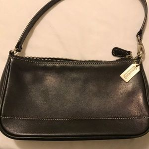 Small leather coach purse